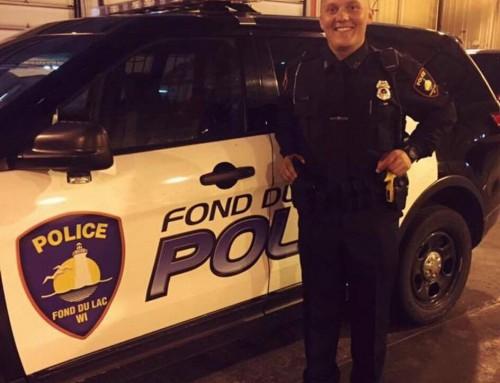 2015 Craig Birkholz Scholarship recipient Jacob Randall hired by FDL Police Dept.