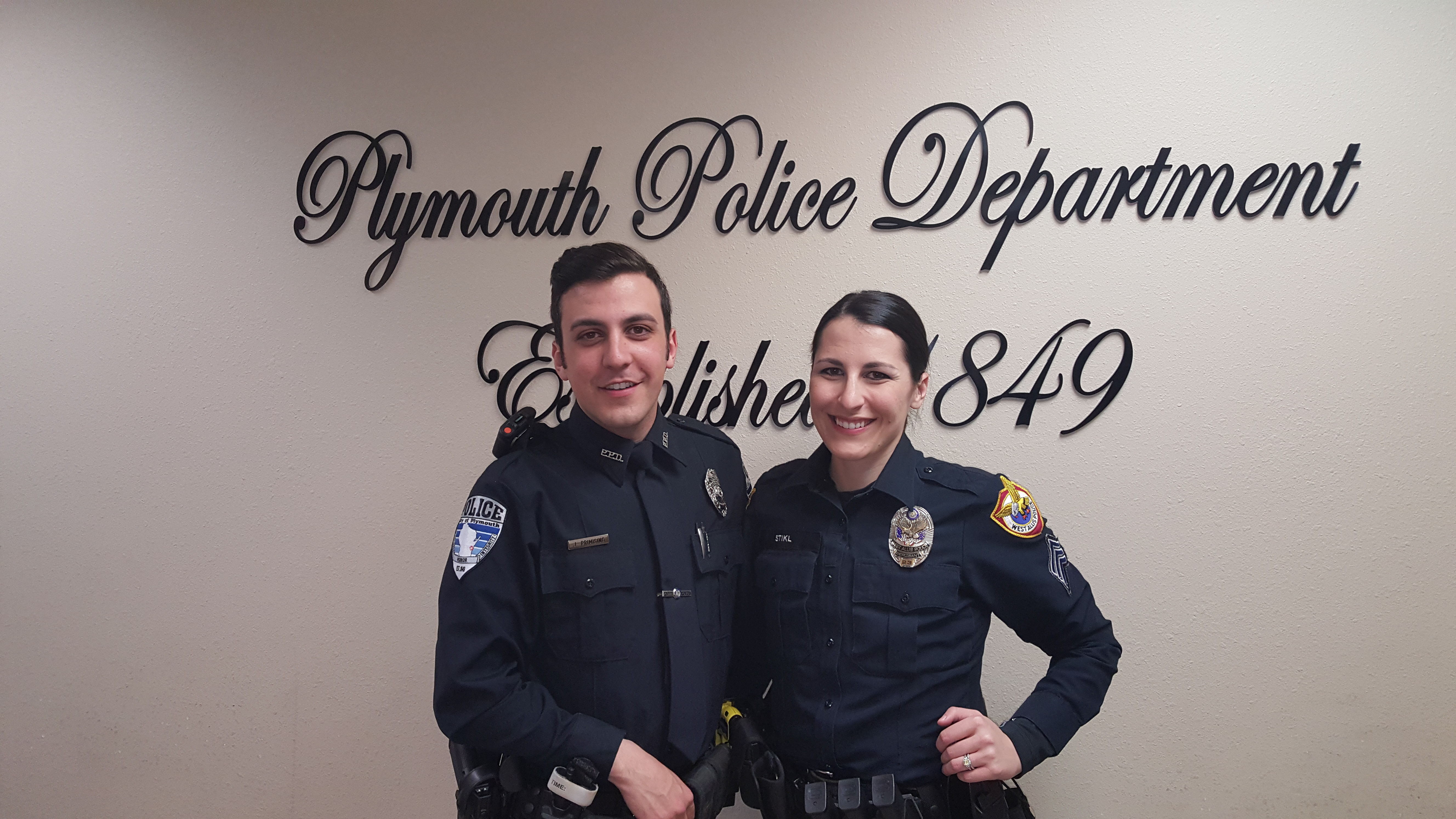 BIRKY SCHOLARSHIP RECIPIENT JOHN PRIMISING HIRED AT PLYMOUTH POLICE DEPARTMENT